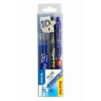 Set de 2 Rollers PILOT Frixion Clicker + 3 Recharges bleues