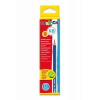 12 Crayons graphites CARIOCA HB N°2