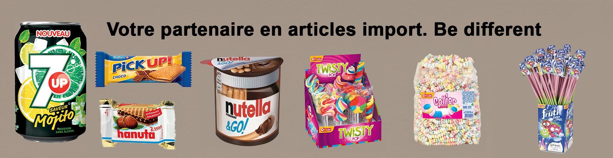 Partenaire articles import