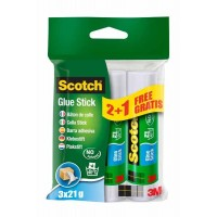 Lijmstick SCOTCH 21 gr - 2 + 1