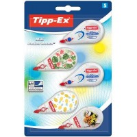 TIPP-EX Mini Pocket Mouse – 3 Décor + 2 Classic