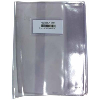 10 Couvres Cahiers BRONYL A5 Transparents