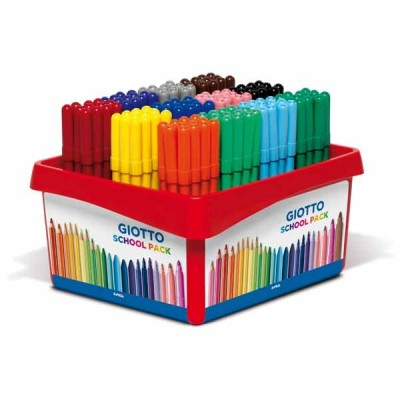 GIOTTO Turbo Color - Schoolpack 144 feutres (12 coul x 12)