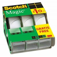 SCOTCH Magic tape caddy pack 19 mm x 7,5 m