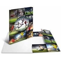 Farde élastiques HERMA Football Carton A4