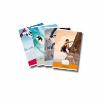 Studentboek PALADIN wit houtvrij papier 125 x 195mm 80 blz - geruit