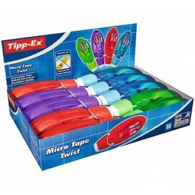 TIPP-EX Micro Tape – Boîte de 10