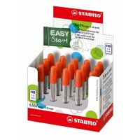 STABILO EASYERGO 1,4 tube de 6 mines HB
