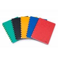 ATOMA cahier carton A4 72F quadrillé