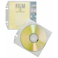 10 pochettes CD Durable non autocollantes