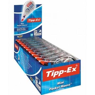 TIPP-EX Correction Tape 6 mm – Boîte de 10