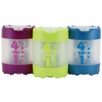 Taille-crayon KUM 4 en 1 Metallic