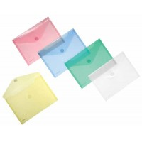 Enveloppes FOLDERSYS A5 Couleurs assorties