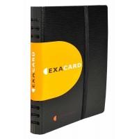 Porte cartes de visite à spirales EXACARD 20 x 14,5cm pour 120 cartes