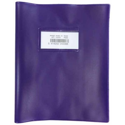 Couvre cahier Bronyl Haute qualité A5 Violet