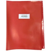 Couvre cahier Bronyl Haute qualité A4+ Rouge