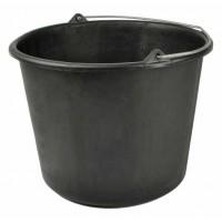 Seau AQUALINE 12 litres Noir