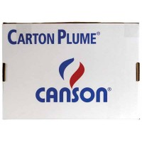 CANSON Carton plume 50 x 35 cm 3 mm