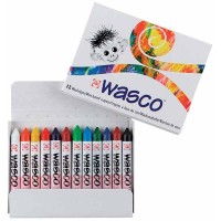 12 Crayons de cire Wasco
