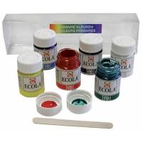 Plakkaatverf TALENS 6 kleuren