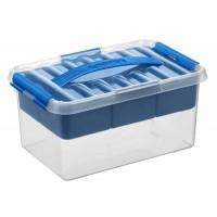 Boîte de rangement Pratique SUNWARE Q-Line - 6 litres