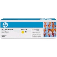 HP LASER CC532A JAUNE