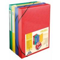 Boîtes de rangement EXACOMPTA en carton – Lot de 3+1
