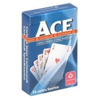 Speelkaarten 54 sterke kaarten CARTAMUNDI ACE - blauw/rood