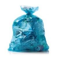 Zak Net Brussel blauw 100 liters - 1 rol