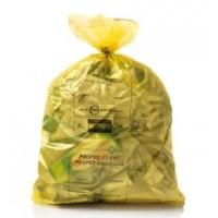 Zak Net Brussel geel 30 liters - 1 rol