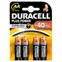 Piles Duracell AA LR06 MN1500 par 4 pièces