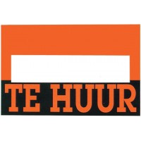 "Cello de 10 Affiches ""Te Huur"""