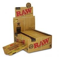 RAW Long King Size Slim Paper 50st