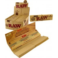 RAW Connoisseur King Size Slim Tips + Paper 24st